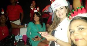 Fiesta de Navidad en QLU University of Louisville Panama