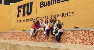 Alumnos de FIU en Panama en #UniversitiesTour2015 USA
