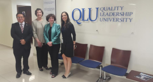 Altas Autoridades de University of Louisville e Illinois State University visitan QLU