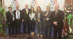 Visita de Rectores de FIU y UChile a QLU Panama en Cumbre de Rectores