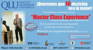 master class experience qlu panama