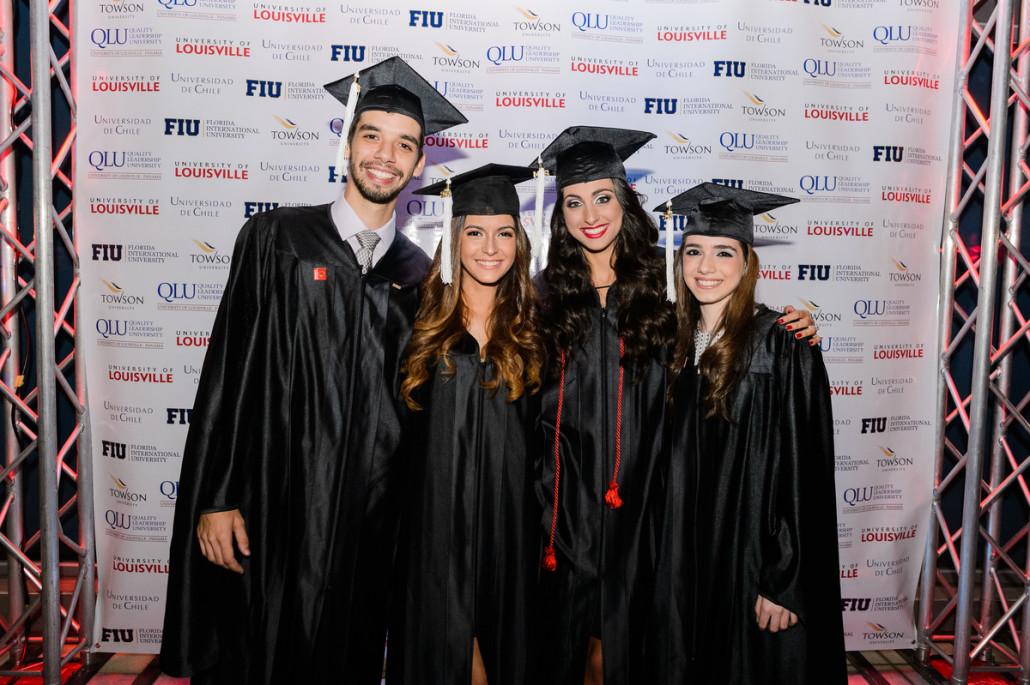 Maestrias en Panamá: Graduación de egresados de la Maestría MBA de FIU (Florida International University) en QLU - University of Louisville Panamá