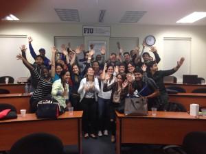 nestor romero y alumnos de curso de wordpress university of louisville panama