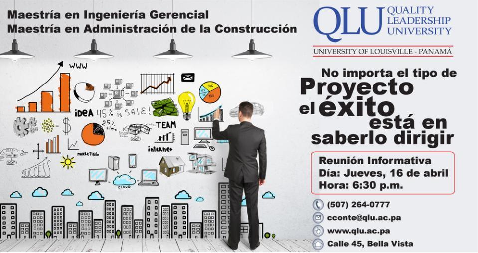 conferencia master ingenieria gerencial y administracion construccion en panama