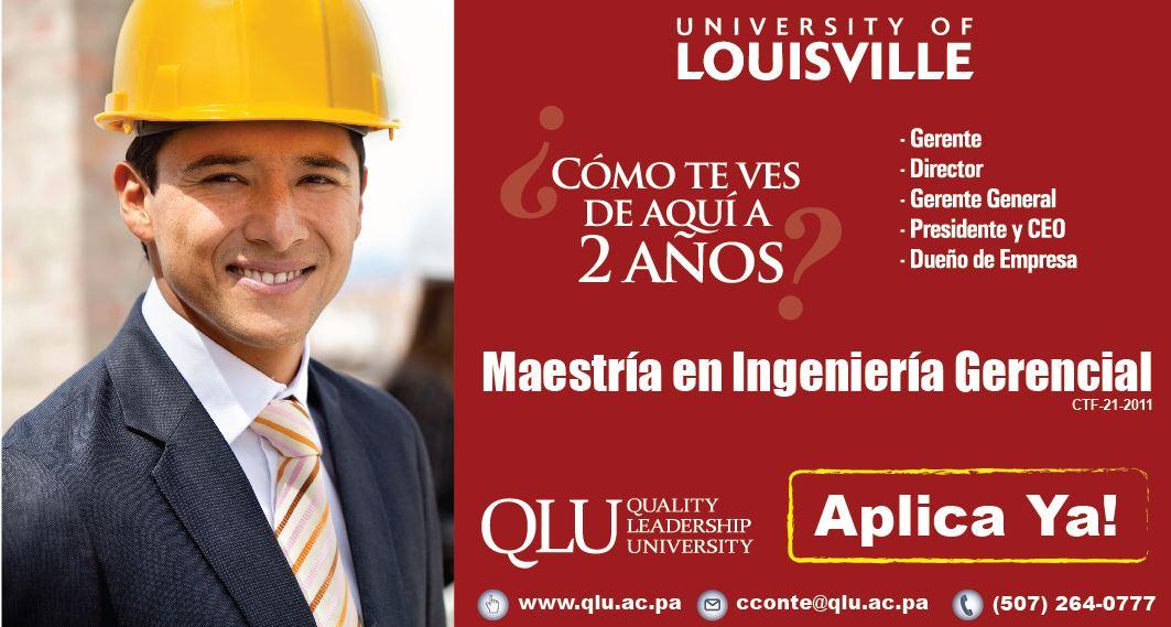 Maestria en ingenieria gerencial Panama
