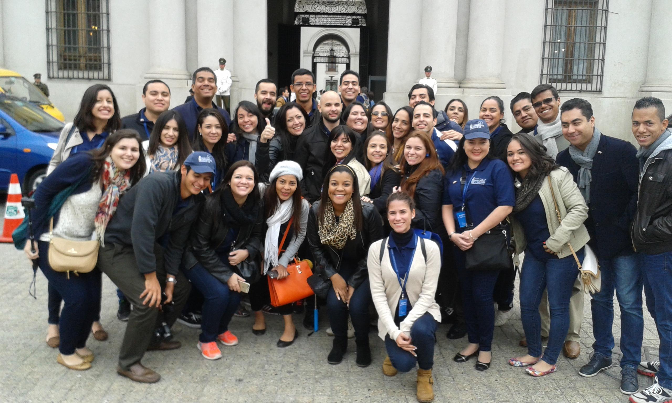 Palacio de la Moneda _ MBA_Mercadeo_ Seminario Internacional_Universidad de Chile_QLU