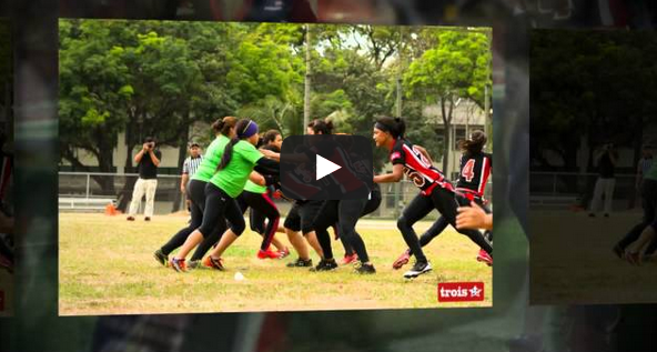 Womens Flag Football Road to the Championship in Panama