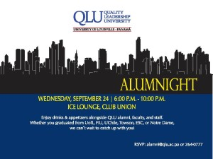 Get Together Alumni University Louisville Panama Quality Leadership