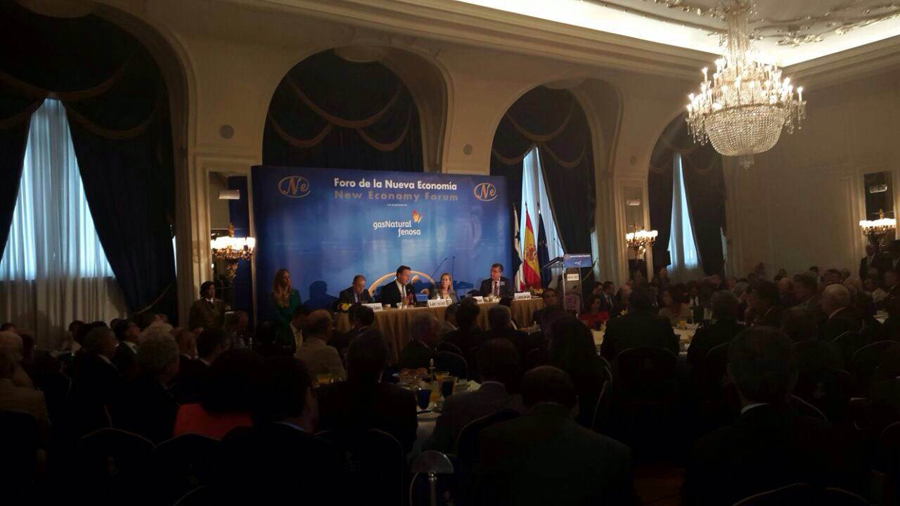 Presidente Varela en Madrid