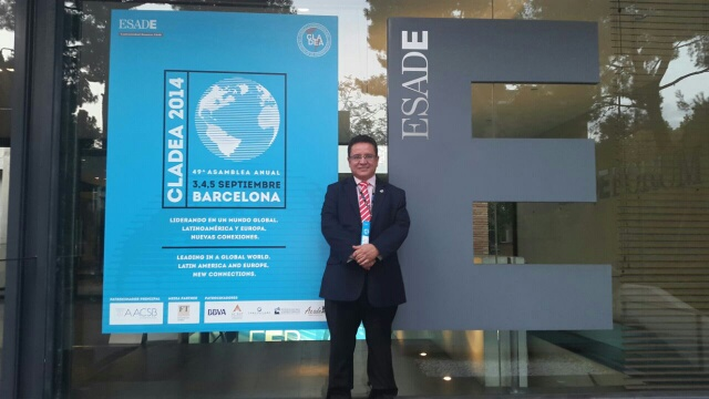 Rector University of Louisville en CLADEA Barcelona