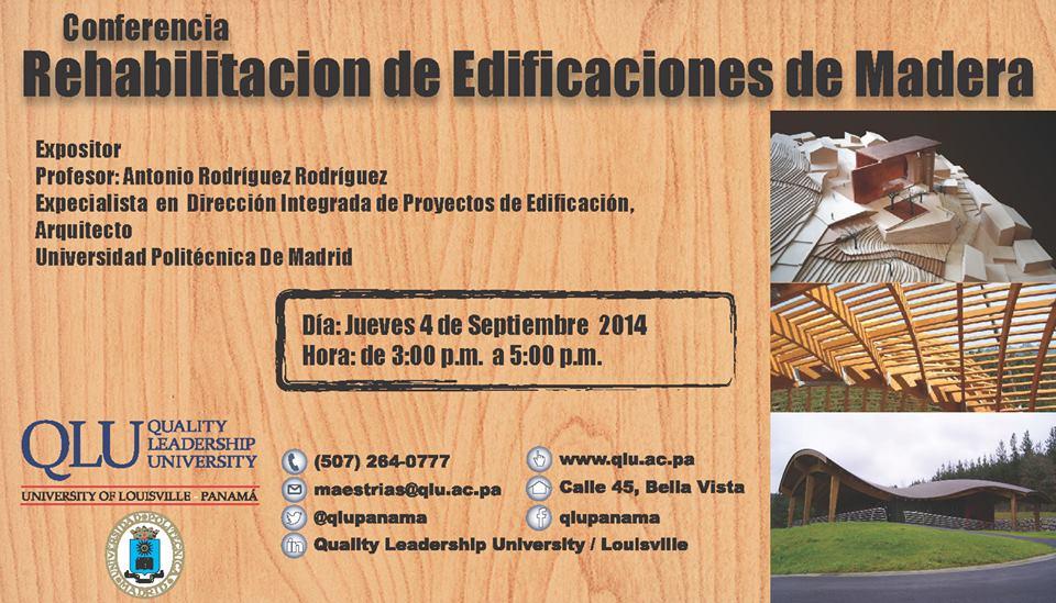 Rehabilitacion de Edificios de madera Panama