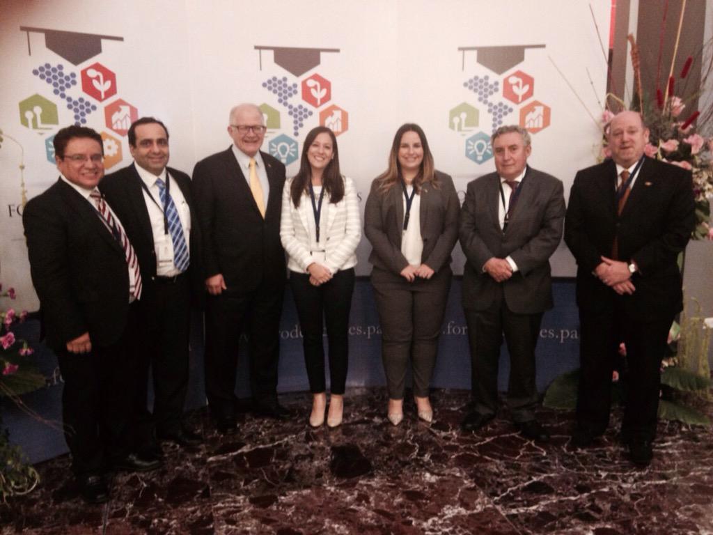 Presidentes y Rectores de QLU Universidad de Chile y FIU participan del I Foro de Rectores