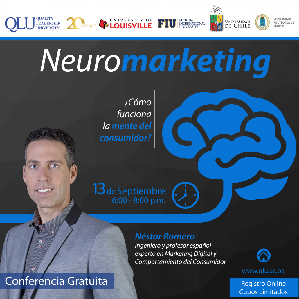 conferencia neuromarketing nestor romero panama