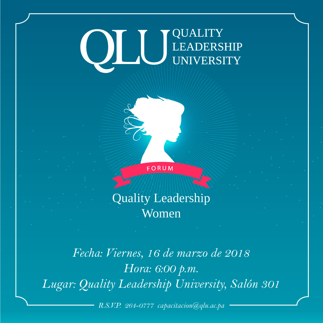 Lanzamiento Quality Leadership Women Forum 2018