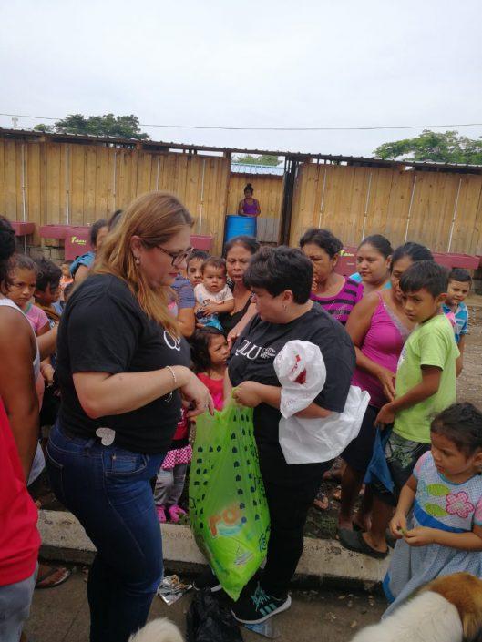 QLU y Panamá hacen donación