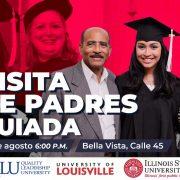 Visita guiada para padres University of Louisville - QLU 6 de agosto