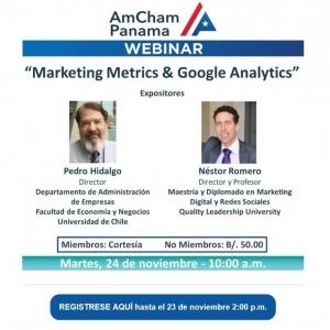 Marketing Metrics & Google Analytics