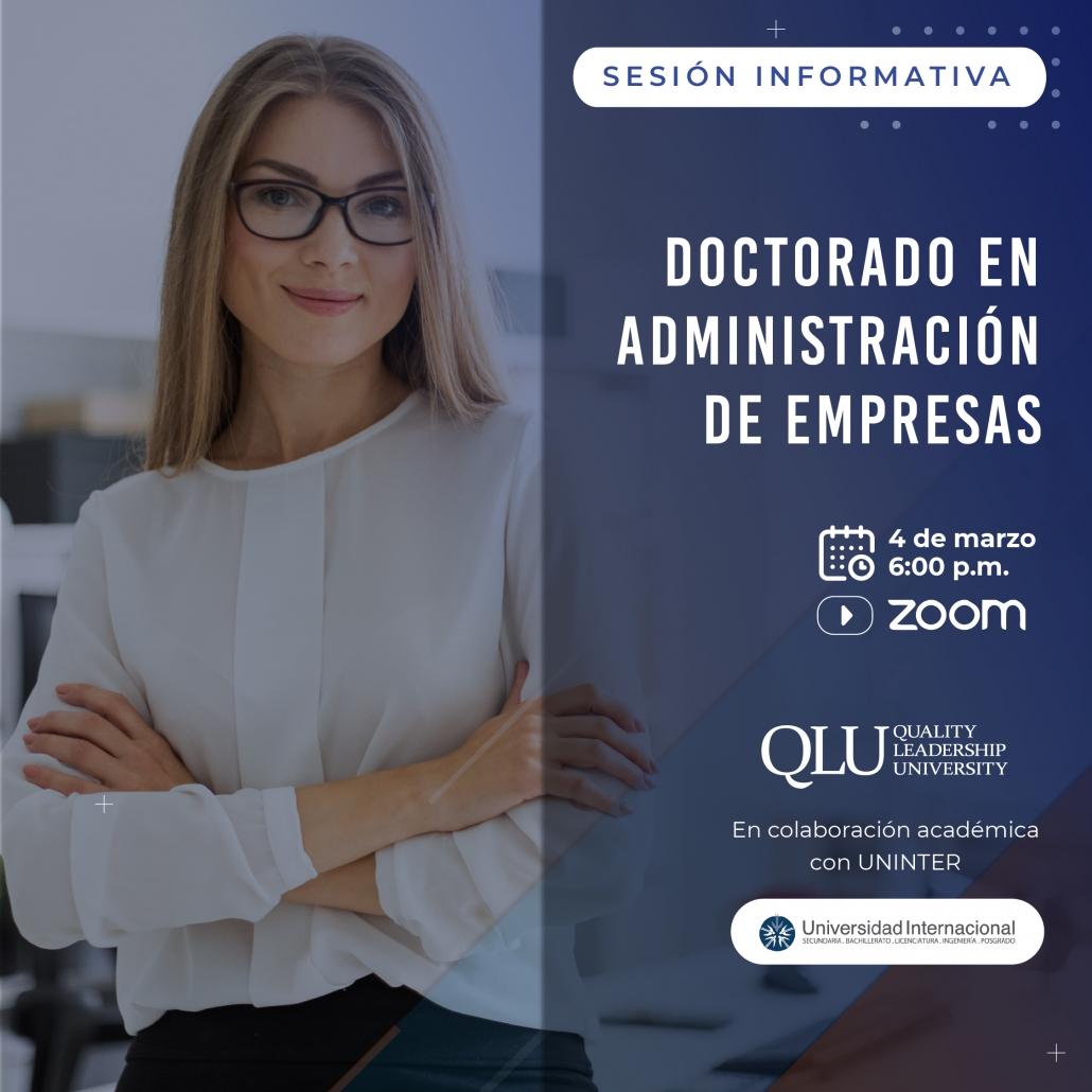 Sesión informativa doctorado