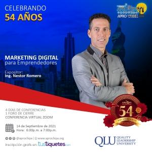 Nestor Romero marketing digital para emprendedores Panama