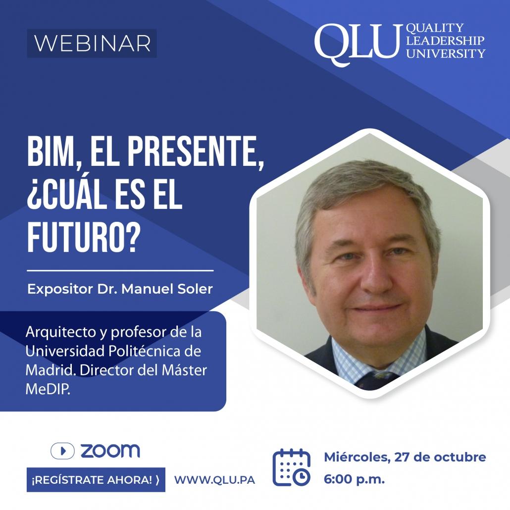 Webinar BIM, el presente, ¿Cuál es el futuro?